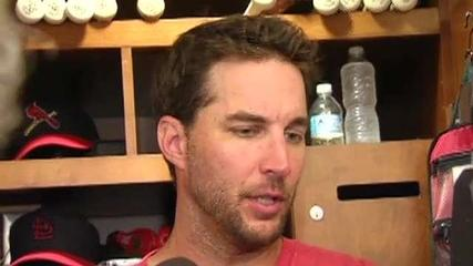 News video: Wainwright Feels, Looks Good in Return